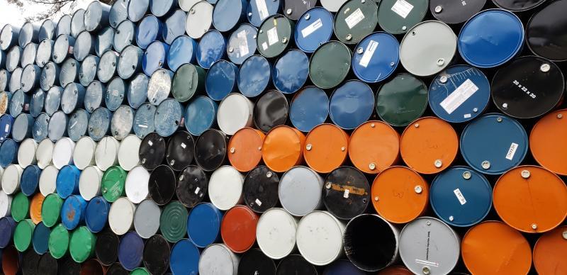 Compra tambores metalicos usados