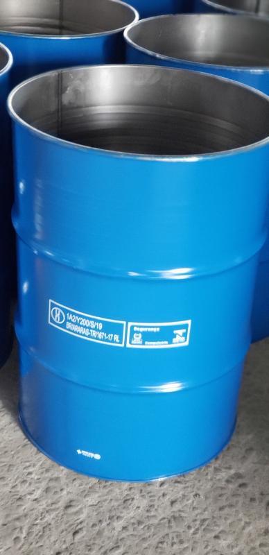 Tambor metalico com tampa removivel
