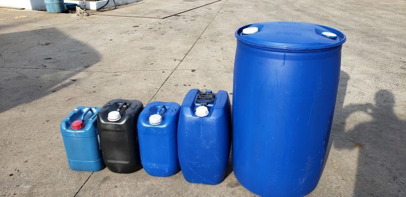 Tambor de plastico 200 litros