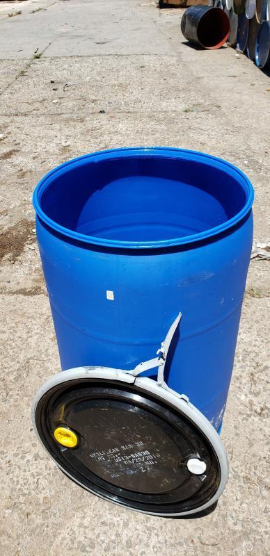 Tambor de plastico com tampa