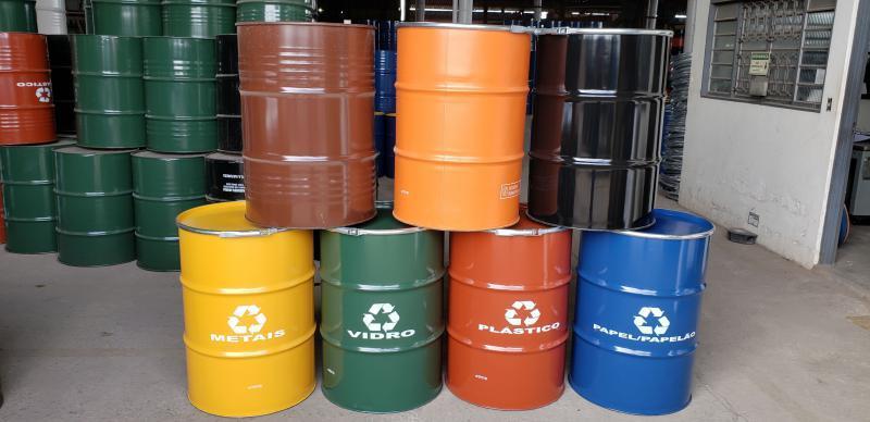 Tambor para reciclagem