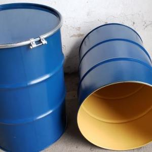 Tambor 200 litros com tampa removivel
