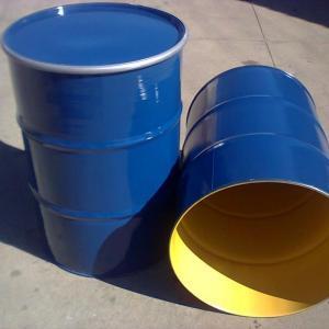 Tambor 200 litros com tampa removivel usado