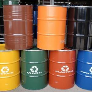 Tambores para coleta seletiva de lixo